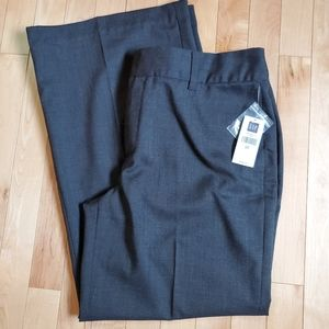 GAP Gray Wool Bl Classic Fit Stretch Pants SZ 12